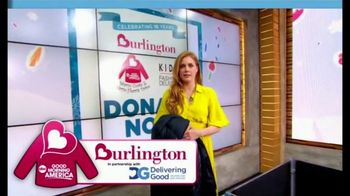 Burlington Warm Coats & Warm Hearts Drive TV Spot, 'ABC: Donate' - Thumbnail 5