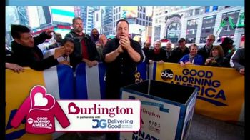 Burlington Warm Coats & Warm Hearts Drive TV Spot, 'ABC: Donate' - Thumbnail 8