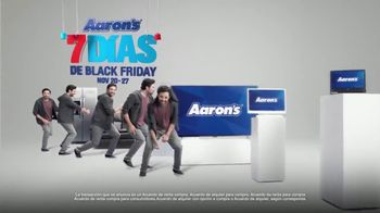 Aaron's 7 Días de Black Friday TV Spot, 'Clon' [Spanish]