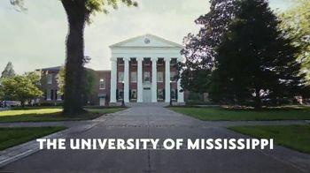 University of Mississippi TV Spot, 'Ole Miss' - 162 commercial airings