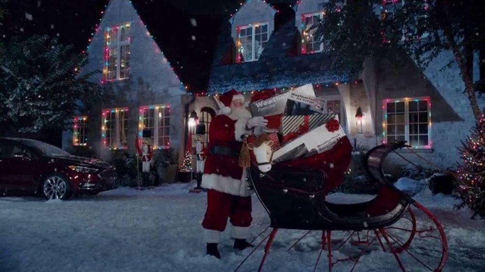 Weathertech Commercial Santa Meets The