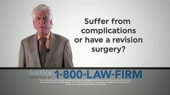 1-800-LAW-FIRM TV Spot, 'Hernia Repair Surgery' - Thumbnail 3