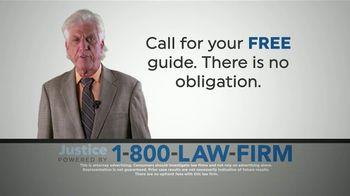 1-800-LAW-FIRM TV Spot, 'Hernia Repair Surgery' - Thumbnail 5