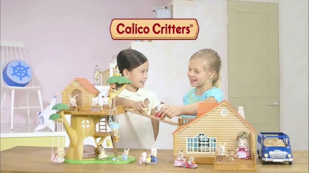 Calico Critters Adventure Tree House Tv Commercial Fun