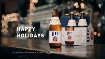 Miller Lite Steinie Bottle TV Spot, 'Ugly Sweater' - Thumbnail 5