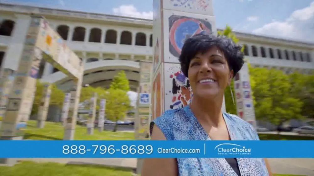 ClearChoice TV Commercial, 'Dental Implants: Ghadir's Story'