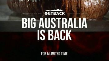 Outback Steakhouse Big Australia TV Spot, 'Biggest Entrees Ever' - Thumbnail 1