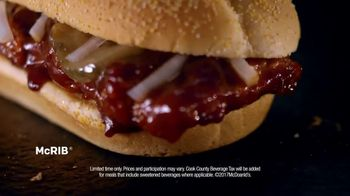 McDonald's McRib TV Spot, 'Answer the Call: Extra Value Meal' - Thumbnail 8