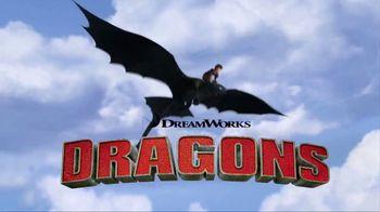 DreamWorks Dragons Barrel Roll Toothless TV Spot, 'Defend Berk' - Thumbnail 1