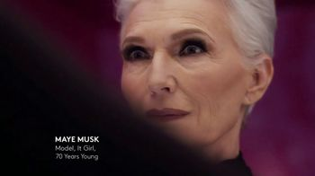 CoverGirl + Olay Simply Ageless Foundation TV Spot, 'What Age' Ft Maye Musk - Thumbnail 5