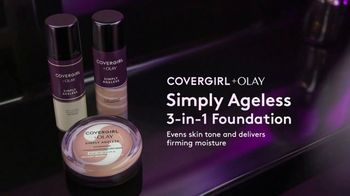 CoverGirl + Olay Simply Ageless Foundation TV Spot, 'What Age' Ft Maye Musk - Thumbnail 6