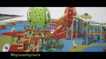 NFL TV Spot, 'My Cause My Cleats: Adventure Park' - 12 commercial airings