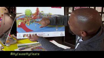 NFL TV Spot, 'My Cause My Cleats: Adventure Park' - Thumbnail 4