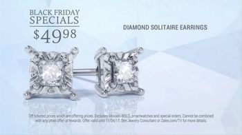 Zales Black Friday Sale TV Spot, 'Diamond Earrings and Rings' - Thumbnail 3