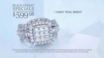 Zales Black Friday Sale TV Spot, 'Diamond Earrings and Rings' - Thumbnail 4