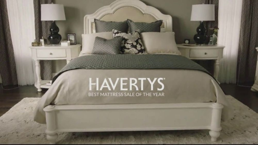havertys best mattress sale of the year tv commercial 39 your perfect mattress 39. Black Bedroom Furniture Sets. Home Design Ideas