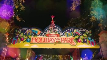 Six Flags Cyber Sale TV Spot, '2018 Holiday in the Park'