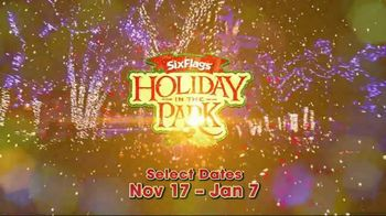 Six Flags Cyber Sale TV Spot, '2018 Holiday in the Park' - Thumbnail 3