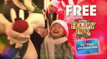 Six Flags Cyber Sale TV Spot, '2018 Holiday in the Park' - Thumbnail 7