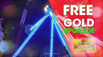 Six Flags Cyber Sale TV Spot, '2018 Holiday in the Park' - Thumbnail 8