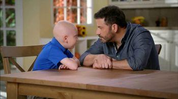 St. Jude Children's Research Hospital TV Spot, 'Holidays' Ft. Jimmy Kimmel - 220 commercial airings