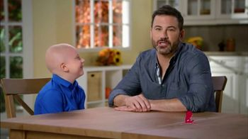 St. Jude Children's Research Hospital TV Spot, 'Holidays' Ft. Jimmy Kimmel