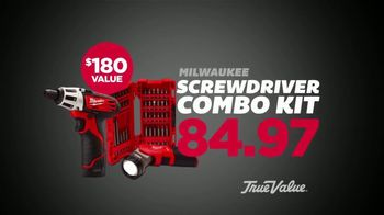 True Value Hardware Black Friday Sale TV Spot, 'Drill and Screwdriver Kits' - Thumbnail 4