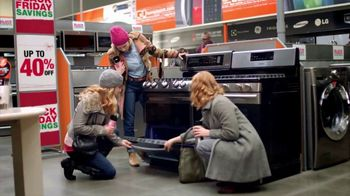 The Home Depot Black Friday Savings TV Spot, 'Together: Major Appliances'
