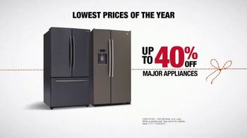 The Home Depot Black Friday Savings TV Spot, 'Together: Major Appliances'