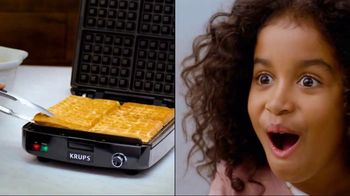 KRUPS Waffle Maker TV Spot, 'Delighted' - 8 commercial airings
