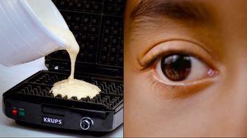 KRUPS Waffle Maker TV Spot, 'Delighted'