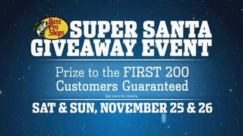 Bass Pro Shops Super Santa Giveaway Event TV Spot, 'Prize' Ft. Kevin VanDam
