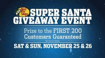 Bass Pro Shops Super Santa Giveaway Event TV Spot, 'Prize' Ft. Kevin VanDam - 38 commercial airings