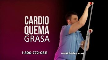 MaxiClimber TV Spot, 'Firme y saludable' [Spanish]