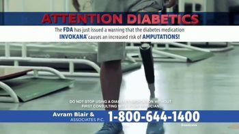 Avram Blair & Associates TV Spot, 'Diabetes Medications' - Thumbnail 2