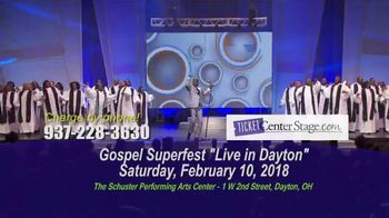 Gospel Superfest TV Spot, 'Live in Dayton' - Thumbnail 10