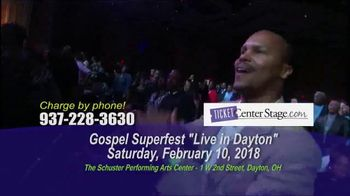Gospel Superfest TV Spot, 'Live in Dayton' - Thumbnail 2