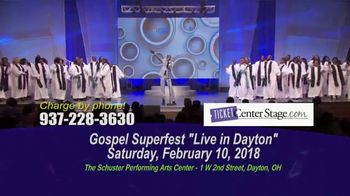 Gospel Superfest TV Spot, 'Live in Dayton' - Thumbnail 5