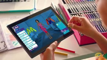 Crayola Fashion Superstar TV Spot, 'Hit the Runway' - Thumbnail 6