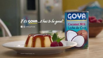 Goya Coconut Milk TV Spot, 'Creamy and Delicious'