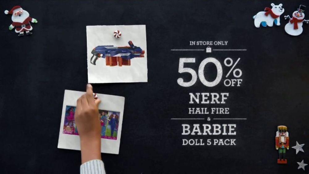 Toys R Us Black Friday Tv Commercial Nerf Barbie And Doc - Toys-r-us-black-friday-store-map