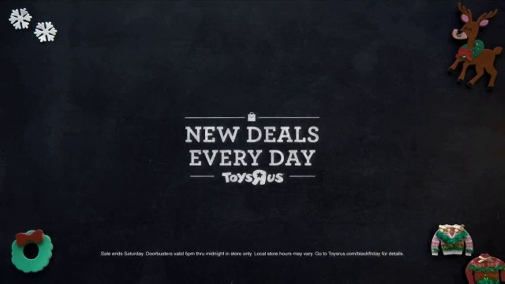 Toys R Us Black Friday Tv Commercial Nerf Barbie And