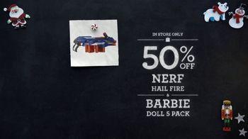 Toys R Us Black Friday TV Spot, 'Nerf, Barbie and Doc McStuffins'