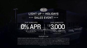 Kia Light Up the Holidays Sales Event TV Spot, 'Light Show' - Thumbnail 8