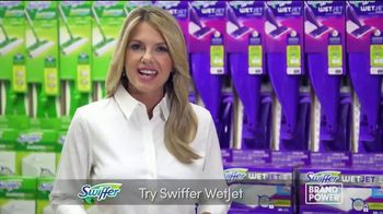 Swiffer WetJet TV Spot, 'Brand Power: Quick and Convenient Clean'