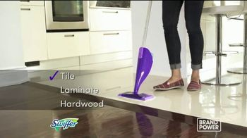 Swiffer WetJet TV Spot, 'Brand Power: Quick and Convenient Clean' - Thumbnail 7