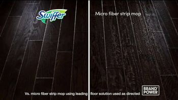 Swiffer WetJet TV Spot, 'Brand Power: Quick and Convenient Clean' - Thumbnail 9
