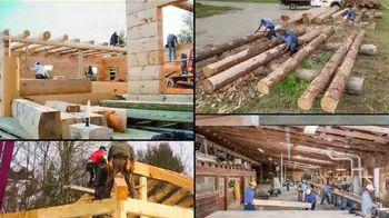 eLogHomes.com TV Spot, 'Spectacular Log Cabins' - Thumbnail 3