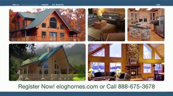 eLogHomes.com TV Spot, 'Spectacular Log Cabins' - Thumbnail 7