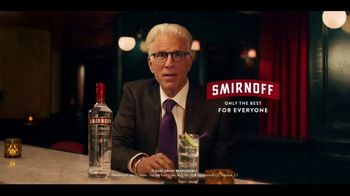 Smirnoff Vodka TV Spot, 'Most Awarded' Featuring Ted Danson - 173 commercial airings